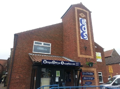 Brigg Office Supplies Showroom